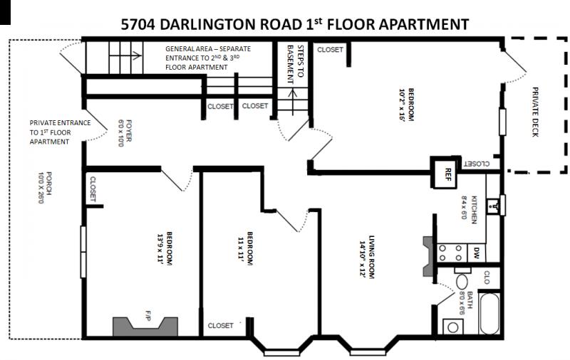 5704 Darlington 1st Floor 3-Bedroom Apt Rev 1