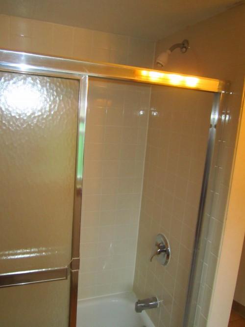 New Shower Tub