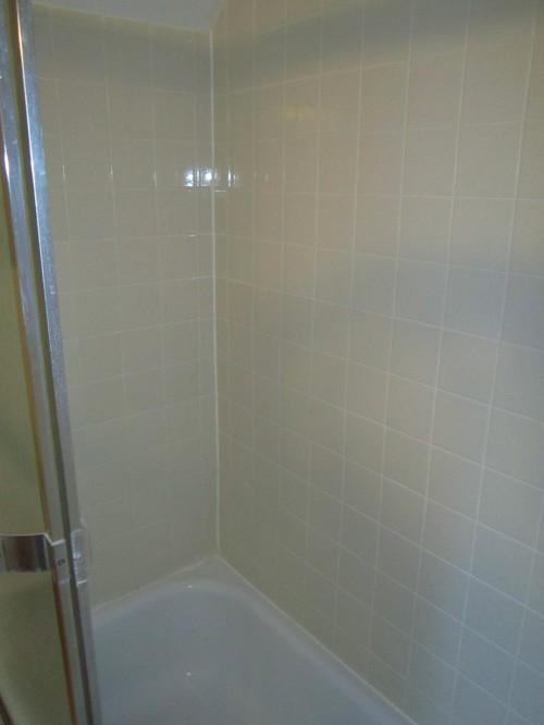 New Tiled Tub