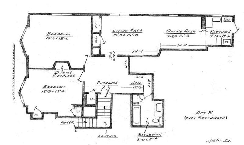 2421 Apartment B - Clean