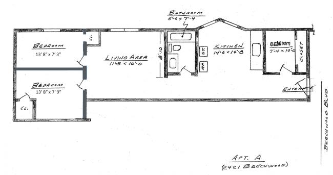 2421A 3-Bedroom