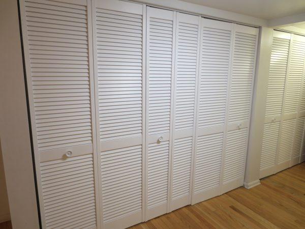 5 Hallway Closets