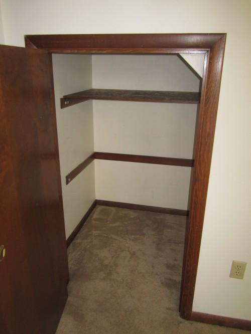 Bedroom Small Closet