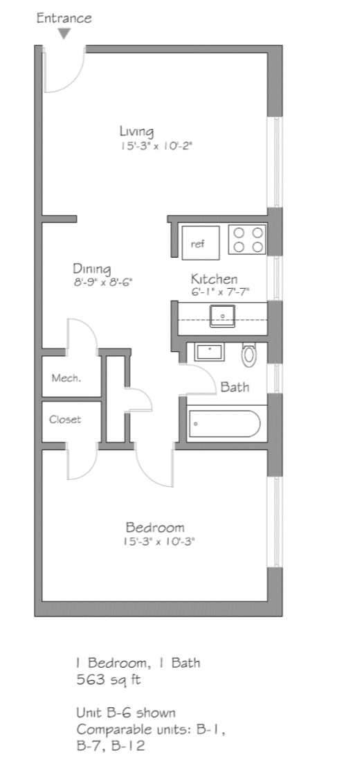 5712 Phillips Avenue Unit B-1, B-6, B-7, B-12