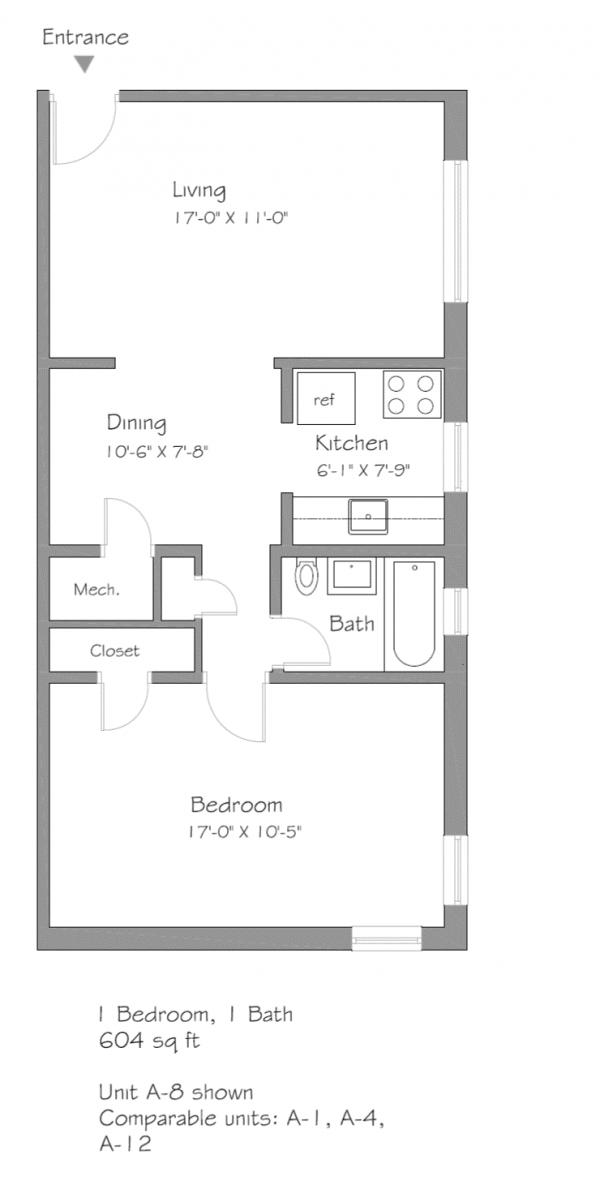 5710 Phillips Avenue Unit A-1, A-4, A-8, A-12