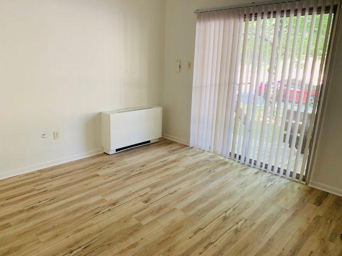Unit 15 Bedroom with Deck & Sliding Door