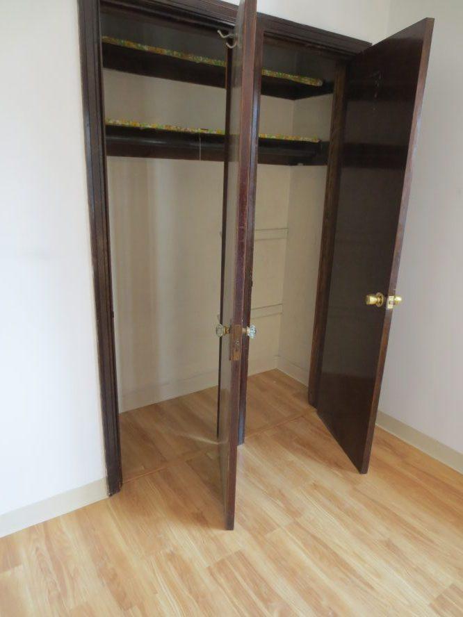 Bedroom Closets Open