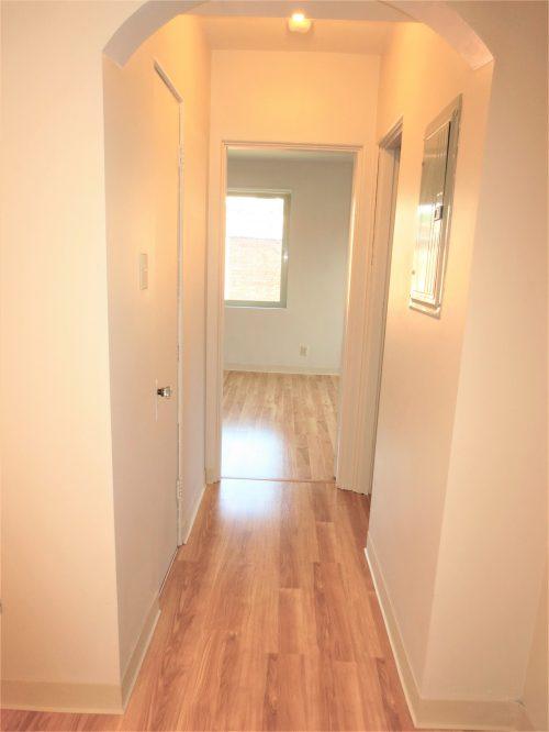 Hallway Between Dining Room and Bedroom