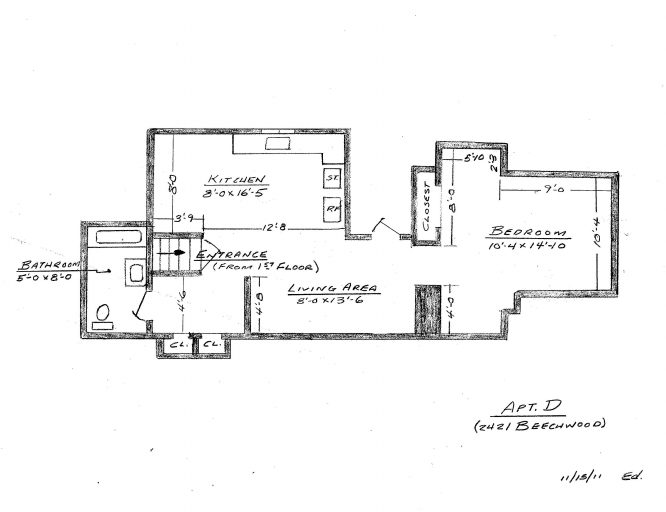 2421 Apartment D - Clean