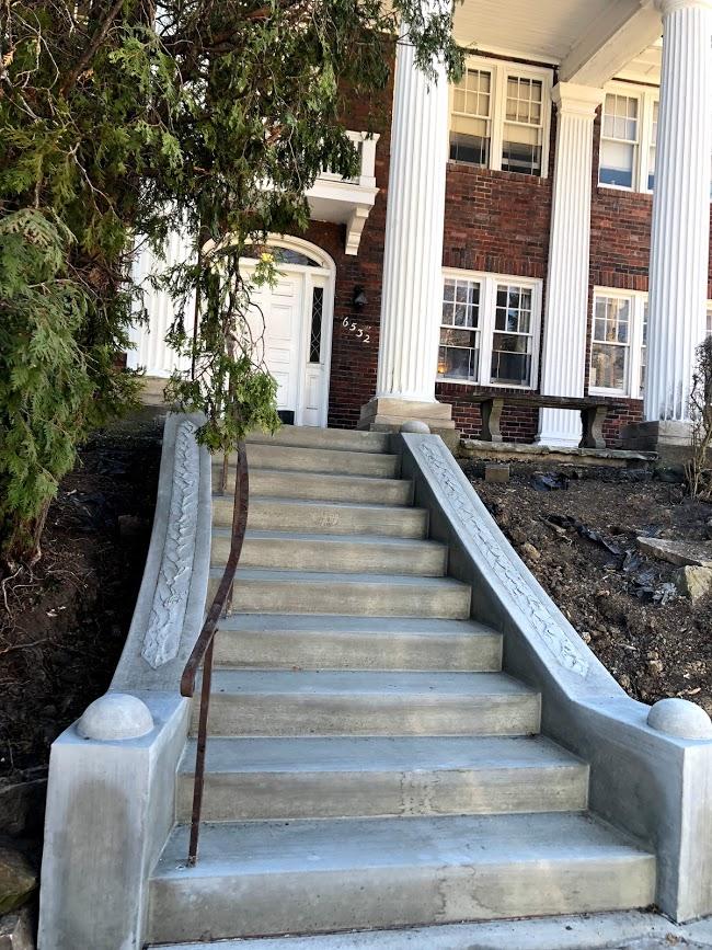 3 - Front Steps