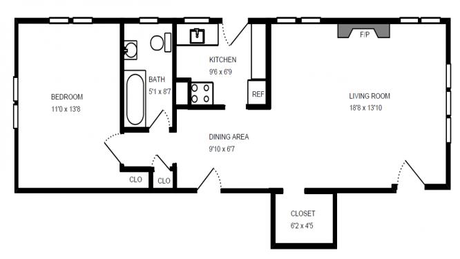 5 - B1 Floor Plan